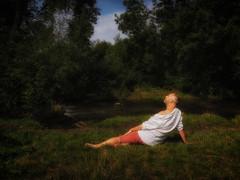 Hazy Shade Of Summer (Scott A Hamilton) Tags: portrait male barefoot snapschotts