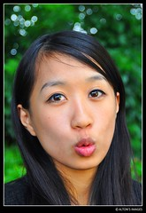 Choco (alton.tw) Tags: portrait people woman face female asian fun island model nikon kiss asia taiwan lips taipei formosa  hakka  alton choco altonthompson taiwanese pucker choc 2013  taiwanphotographers altonsimages