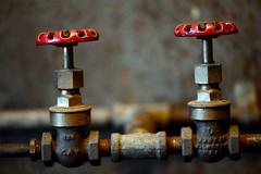 Two valves (Michael Matise) Tags: shop industrial antique machine laboratory thomasedison westorangenj