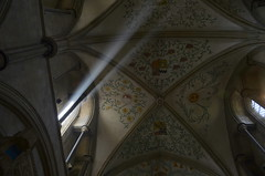 God said let there be light-over 2.000 views thank you (blue angel66) Tags: west church sussex priory halnaker boxgrove