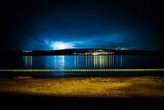 lightning over Krk island (DubeFranz) Tags: storm croatia lightning hrvatska crikvenica kvarner krkisland