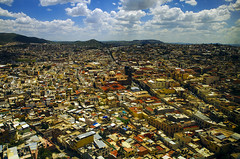 Zacatecas (Filippo Mch) Tags: city sky panorama mountains colors skyline montagne mexico day cloudy cielo zacatecas colori città messico
