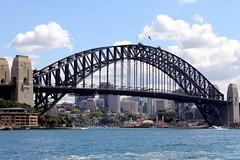Sydney Harbour Bridge and Luna Park