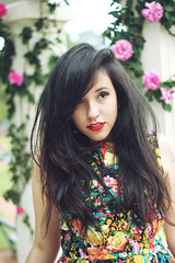 Buenos Aires (depoisdosquinze) Tags: brazil flower argentina girl brasil buenosaires blogger depoisdosquinze brunavieira