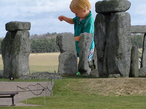DJ at Stonehenge