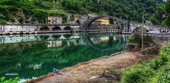 Ponte della Maddalena aka Ponte del Diavolo (Fr@nk = back) Tags: italy italia ponte tuscany maddalena toscana della borgo diavolo srgb toscne hatseflats mrtungsten62 vision:outdoor=096 luccaeurope