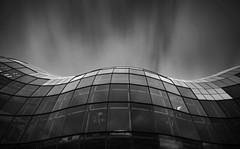 The Sage - Gateshead ({Martin Fryer}) Tags: longexposure bw music architecture buildings newcastle mono nikon sigma gateshead le nikondigital newcastleupontyne haida rivertyne sagegateshead sigma1020mm nikond3200 movingclouds glasswindows reflectinglight haidaproiind30