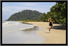 Beach jump at Cape Tribulation NQld-1=