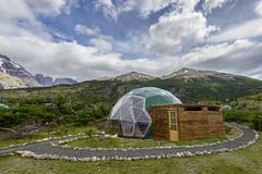EcoCamp Patagonia - Yoga Dome (Cascada Expediciones) Tags: chile patagonia yoga dome torresdelpaine ecodome cascada photho ecocamp