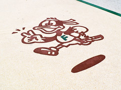 RUNNING DUCK (Bernat Nacente) Tags: park white green japan fuji running melody adobe  fujifilm octubre fukuoka parc blanc  jap kyushu verd  lightroom  x10      2013 crrer    x  ouhori