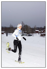 Snowshoe world Championships (Swede66) Tags: snow snowshoe view sweden fast running pros athletes jogging uphill amateurs rttvik dalecarlia wcmountain