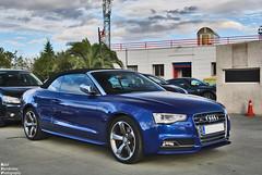 Audi S5 Cabriolet B8 (RAFFER91) Tags: madrid de nikon ferrari audi atletico cabriolet majadahonda s5 d60 599 fiorano gbt b8