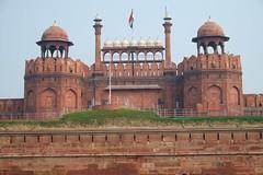 India, New Delhi (February 2014) (eddielimcs) Tags: new red india fort delhi february 2014 eddielimcs