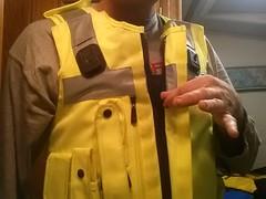yellow vest 2 (strap-wizard) Tags: compression vest comfort pressure kevlar kevlarvest
