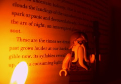 Alan Moore: The song wells up, from a consuming light 4 (Pickman's Paintbrush) Tags: macro book lego books writers writer minifigs alanmoore authors testshot legography legoauthor legoauthors legowriters legowriter