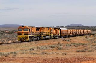 GWA003 GWU004 - GWA006 9616s Loaded GWA Arrium Southern Ore Tent Hill Port Augusta section TAR-A 14 03 2014