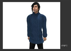 "sharp by [ZD] - Mesh ""Ringo"" Sweater (shine & sharp by [ZD]) Tags: life urban man male men wool fashion by demo sweater cool shine dress place mesh market knit sharp sl dresses second mann marketplace mp knitted mode ringo pullover mnner kleidung menswear wolle gestrickt kleid strick mnnlich pulli zd inworld zddesign"