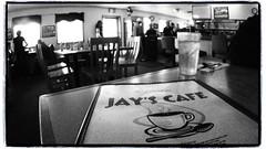 Jay's Cafe (NoJuan) Tags: artfilter fullframefisheye micro43 microfourthirds olympusartfilter olympusep3 9mmbcl