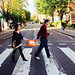 "England Graduate students Kelsie Houck '12 and Michael White added a Clemson spin to the Beatles' famous Abbey Road in London. • <a style=""font-size:0.8em;"" href=""http://www.flickr.com/photos/49650603@N07/13929280858/"" target=""_blank"">View on Flickr</a>"