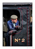 The Driver (Seven_Wishes) Tags: newcastleupontyne tanfield tanfieldrailway tanfieldsteamrailway train traindriver enginedriver steamtrain steamlocomotive worker maleworker marleyhillyard overalls flatcap beard canonef100400mm4556lis candid candidportrait nikcolourefexpro niksilverefexpro nikplugins edoliver 7wishes 7wishesphotography 2014 views7k