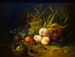 Rachel Ruysch, Fruit and Insects, 1711