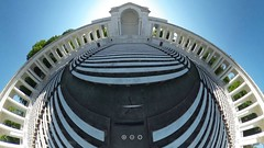 360 ANC Amphitheater (link in photo description) (KLMP) Tags: cemetery arlington soldier photo dc flickr walk tomb 360 national unknown karin amphitheater ricoh spherical theta markert flickr10