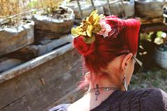 (Alexandra Moskow) Tags: california santa flower art alex nature bar garden hair outside poem valentine cruz photograph poet adrian raggedy moskow andey gravitysavedme lifemarrow