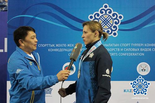 Гузель Манюрова победительница Чемпионата Азии по видам борьбы, 2014