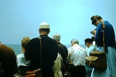 6-9-1957- Manhattan Beach Camera Day (3) (foundslides) Tags: california ca film vintage found photography photo pix photographer photos kodak pics slide pic photographic retro 1950s transparency 1960s kodachrome slides foundslides oldphotos photgraphy transparencies redborder johnrudd irmalouiserudd johnhrudd southerncaliforniacouncilofcameraclubs