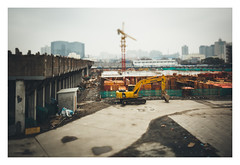 CONSTRUCTION (blake.thornberry) Tags: china canon lens shanghai shift 24mm prc   tilt tse