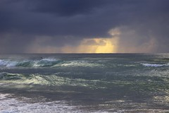 Stormy seas (Deb Jones1) Tags: ocean sunset seascape storm beach water weather sunrise canon australia nsw beaches brunswickheads byronshire