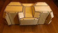 M3V_2 (Tom Crain Origami) Tags: wood origami tessellation thick rigid rigidfoldable