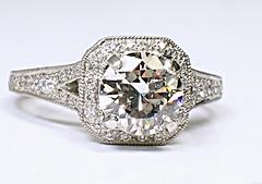 Diamond Engagement Ring (theappraiserlady) Tags: engagement engagementring ring diamond ido anillo diamante diamantes joyas 21415 diamondengagementring theappraiserlady