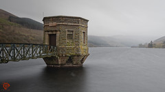 Wet and windy at Talybont Reservoir & Pump House (Fred255 Photography) Tags: uk longexposure water rain wales canon raw wind reservoir pumphouse haida waterscapes talybont llens 10stops benrotripod leeholder ef1635mmf4lisusm canoneos5dsr fred255photography2016 goplustravel