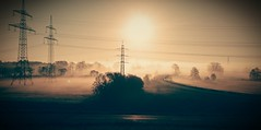 On the way to work... (Florian Grundstein) Tags: morning cloud mist misty fog sunrise landscape phone sony foggy z2 breathtakinglandscapes