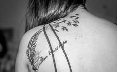 Don't lose hope ... (Ammar Crazzy) Tags: tattoo nikon thai thiland tattoogirl d810
