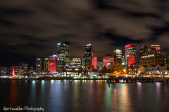 Vivid Sydney (darrinwalden Photography) Tags: colour water skyline lights harbour sony sydney vivid australia