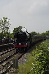 CJM_3198 (cjmillsnun@btinternet.com) Tags: heritage trains hampshire steam locomotive flyingscotsman steamlocomotive romsey nikond7000