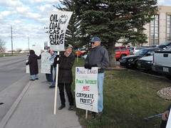 DSCN6557 (WildEarthGuardians) Tags: protest wyoming climate publiclands leasing oilandgas fracking keepitintheground