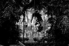 Pura Gunung Kawi (myview11) Tags: myview11 nikon 1 v1 pura gunung kawi bali travel black white monochrome temple