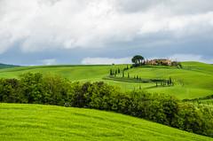 val d' orcia (Cafferacer59) Tags: italy panorama green tourism landscape nikon italia tuscany campo toscana architettura paesaggio cipressi allaperto nikond7000