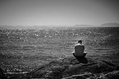 Solitude (Fallen Archer) Tags: blackwhite westvancouver lighthousepark canonef24105mmf4lisusm canoneos40d