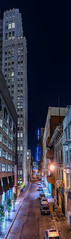 end of a long haul (pbo31) Tags: sanfrancisco california city black color vertical architecture night dark spring alley nikon infinity gray over sfmoma may large panoramic soma stitched 2016 boury pbo31 d810 financialdistrictsouth