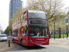 National Express West Midlands 4821 BX09 PGU Caitlin on 101 (sambuses) Tags: caitlin 4821 nationalexpresswestmidlands nxwm bx09pgu nxbus