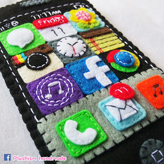 You've mail iPhone 6 plus pocket cozy (Nico Atom) Tags: handmade itunes gifts etsy friday tgif apps facebook iphone instagram iphone6plus