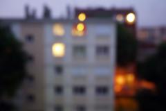 La vue, les vues  rue de l'Ouest, Nanterre, juin 2016 (Stphane Bily) Tags: city blur evening nanterre soir flou hautsdeseine