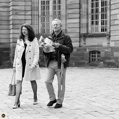 07S16 (photo & life) Tags: street city blackandwhite paris france 35mm square photography europe noiretblanc streetphotography strasbourg squareformat fujifilm fujinon ville jfl xt1 squarephotography humanistphotography fujinonxf35mmf14r fujifilmxt1 photolife