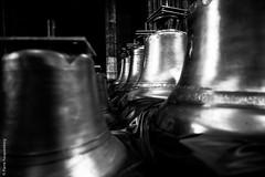 Cloches B&W - Cathdrale de Rouen (Pierre Fauquemberg) Tags: blackandwhite bw monochrome noiretblanc religion cathdrale rouen normandie glise vieilleville hautenormandie cloches rligieux pierrefauquemberg