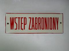 Wrocaw (isoglosse) Tags: sign poland polska schild polen sansserif wrocaw breslau znak ogonek