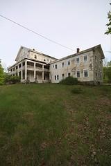 Georgian Lake Mansion (EsseXploreR) Tags: new york lake ny abandoned georgian mansion abandonednj